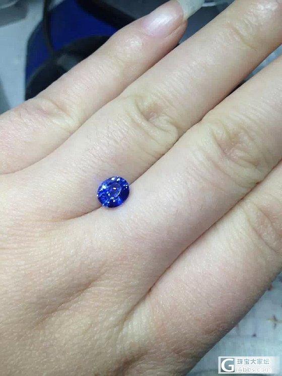 帮看看 有烧的蓝宝石 1.31卡  入的贵不贵啊_蓝宝石