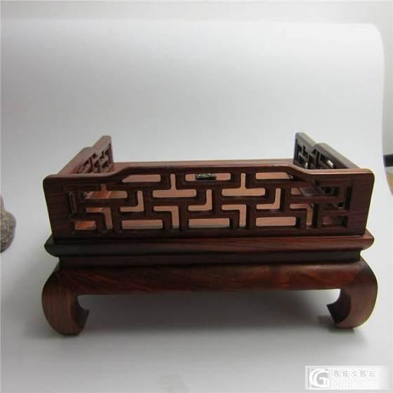 老红木罗汉床摆件--北方榫卯工艺--精致美观_珠宝