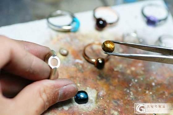 一个天然水晶戒指是如何做成的!_闲聊