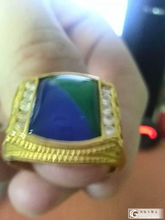 帮我看看这个戒指中间的宝石是什么_金