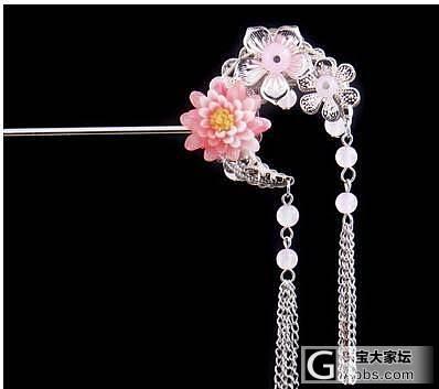 看到貌美的簪子了···很是喜欢,大家来看看_簪子银