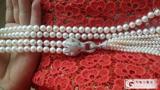 【牛牛珍珠】140428 Tiffany流苏款毛衣链预定,豹子头款毛衣链~~_有机宝石