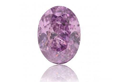 当浪漫紫遇上闪耀钻_钻石