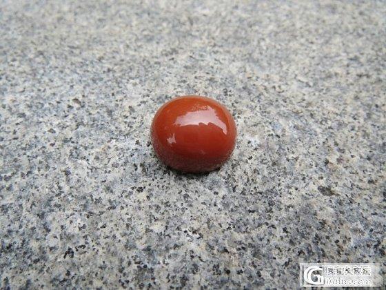 顶级南红玛瑙戒面/蛋面/吊坠裸石--无暇满肉柿子红_传统玉石
