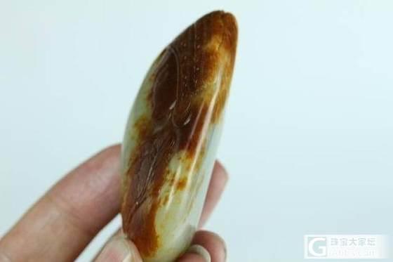 新疆和田玉籽料挂坠真品保真支持复检枣红皮青白玉籽料阿诗玛挂件_传统玉石