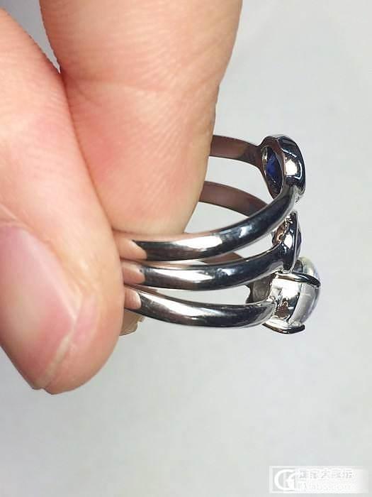 【Mgems】客人定制的蓝宝石,月光石925银戒指3枚_博物馆
