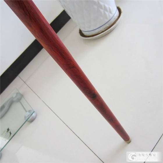 红酸枝拐杖 红木拐杖 实木拐杖 微凹黄檀纹理漂亮包邮_文玩