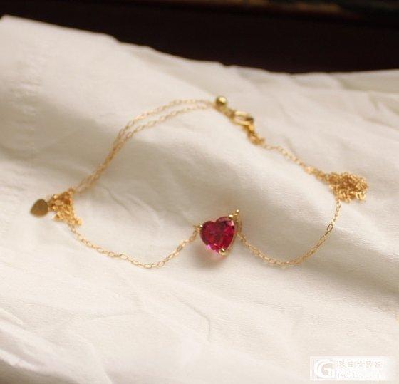 戴着玩儿的红宝项链~~_红宝石