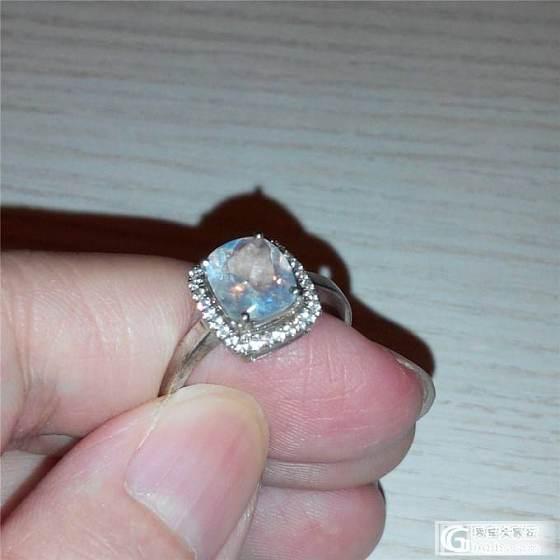 1000以下,彩虹玻璃月光 16号 戒指_宝石