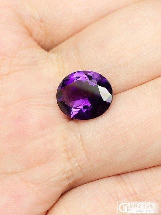 【Mgems微信mikiqiu】3.93顶级紫水晶完美椭圆_博物馆