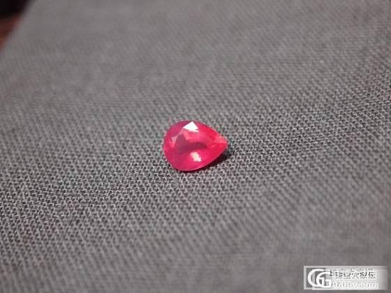 2.15卡的mahenge尖晶哦.milky~~_尖晶石刻面宝石