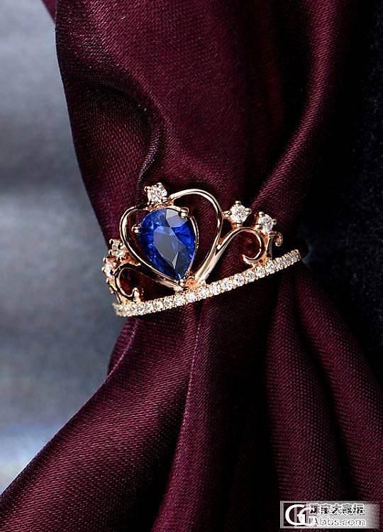 想入个蓝颜色的石头做戒指_宝石刻面宝石