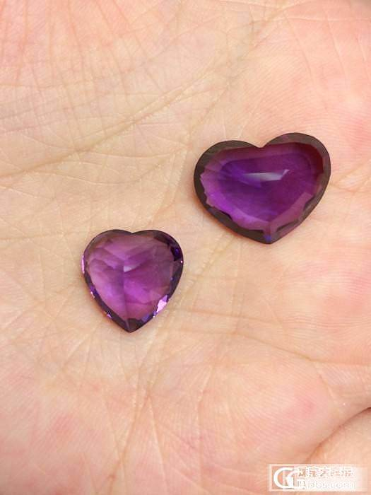 【Mgems微信mikiqiu】9.17克拉已售/6.18克拉两颗顶级爱心紫水晶_博物馆
