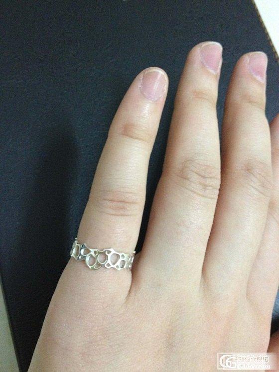 新作新作小戒指~我已经陷在小清新中不能自拔了~_戒指银