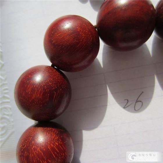 印度小叶紫檀老料手串手链2.0老料(第26件)包邮_珠宝