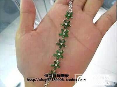 【恒莹首饰镶嵌】18k手链镶嵌_镶嵌珠宝
