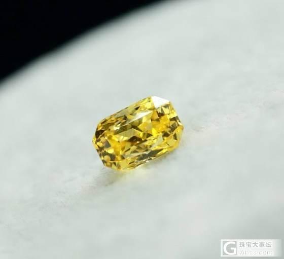 看看这颗无烧黄蓝宝像不像黄钻_蓝宝石
