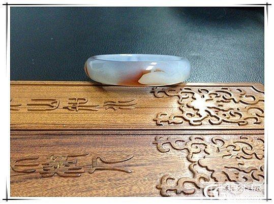 120元包快大亏转冰透美丽的玛瑙镯!坛子闲置版里从来没有过的价格啊!_传统玉石