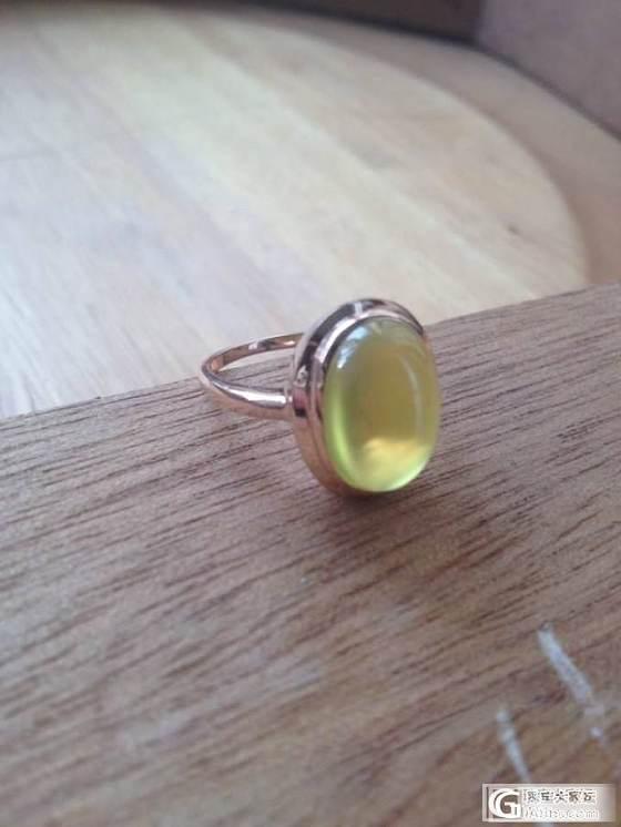 我的柠檬黄葡萄石酱油归来啦。。。_葡萄石刻面宝石