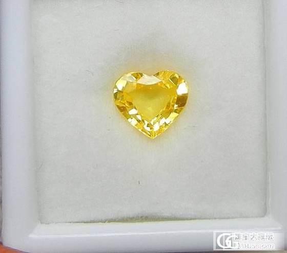 高手帮忙看看这个黄色蓝宝石如何?_蓝宝石