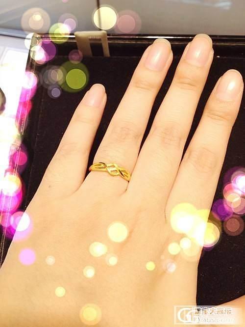 情人节的小礼物,虽小,但巨喜欢_戒指金