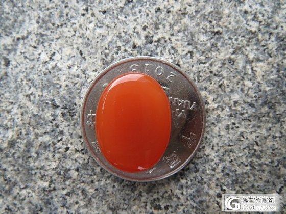 高品质收藏级南红玛瑙戒面--樱桃红_传统玉石