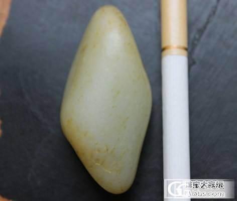 43.3克和田玉籽料_传统玉石