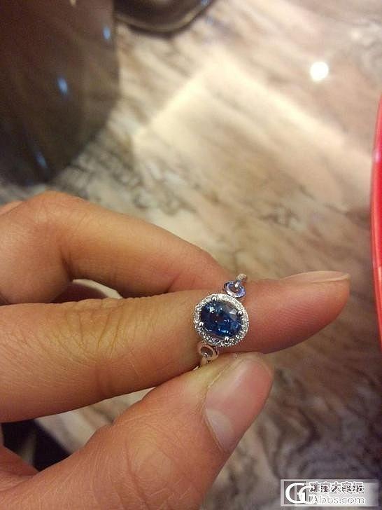 一克拉天然无烧斯里兰卡蓝宝石,大神们这种货现在值多少钱_蓝宝石