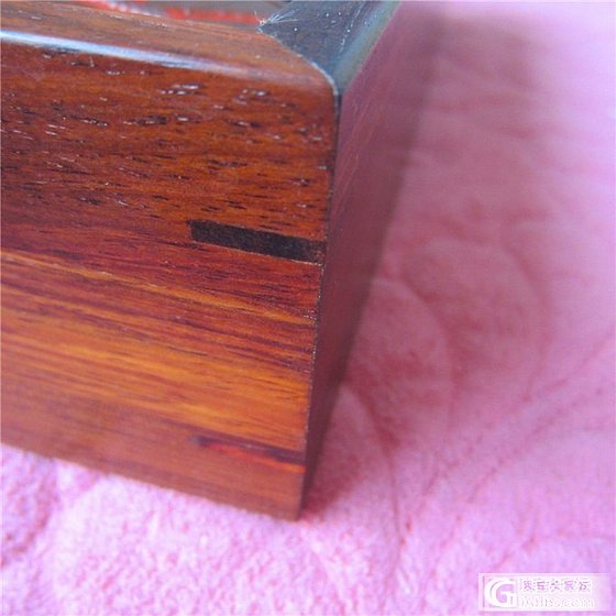 红酸枝象棋 棋子直径6厘米 棋盒榫卯 大籽老红木象棋_珠宝