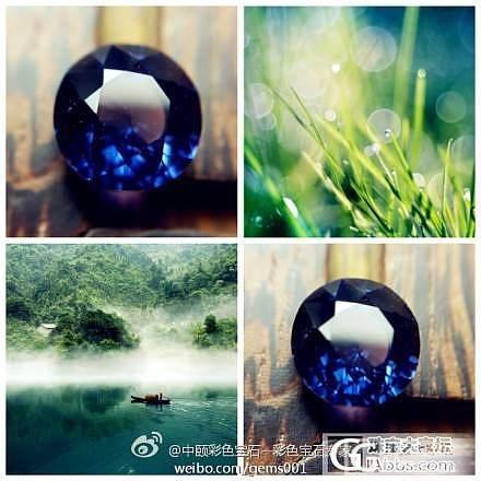 """""""让晚风 轻轻吹过""""... #中颐天然无烧紫色变色蓝宝石#2.02ct_中颐彩色宝石"""