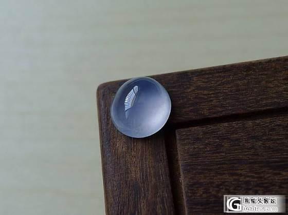 【十月】8.26新货45件之蓝紫底蛋面  售价:1500_十月花嫁翡翠