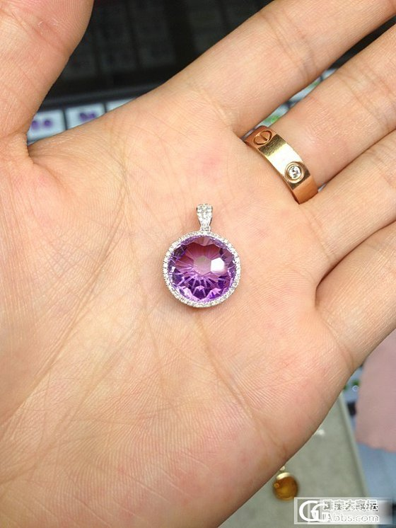 切工少见的紫水晶黄水晶,及部分成品鉴赏,欢迎预定,坛子里的朋友价格有惊喜_珠宝