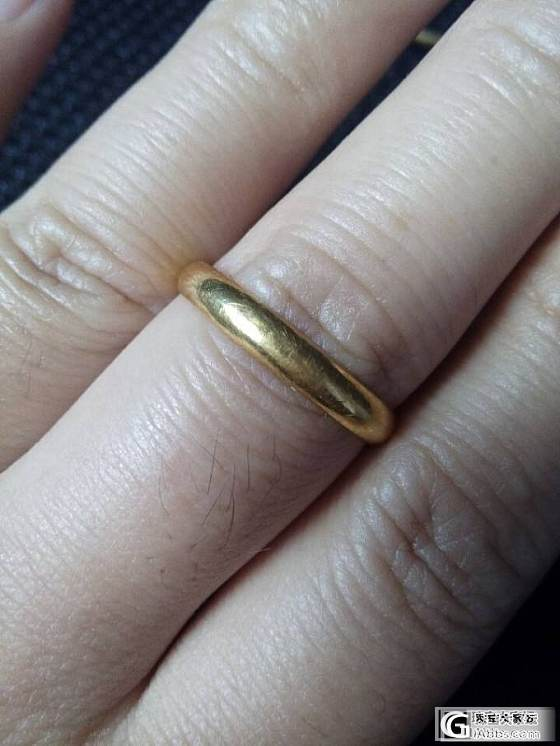 来晒晒自己的金子_手镯项链金银锭戒指金