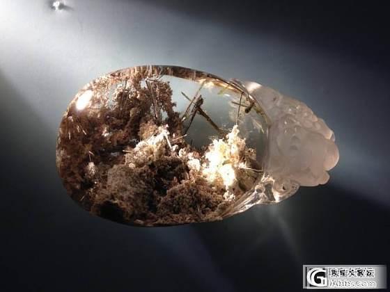 鸽子蛋、原石,都是金发晶开花_珠串
