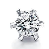 两款耳钉,举棋不定,求见解,如图!_钻石