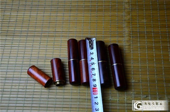 8月25日老红木牙签筒(第6件)_文玩