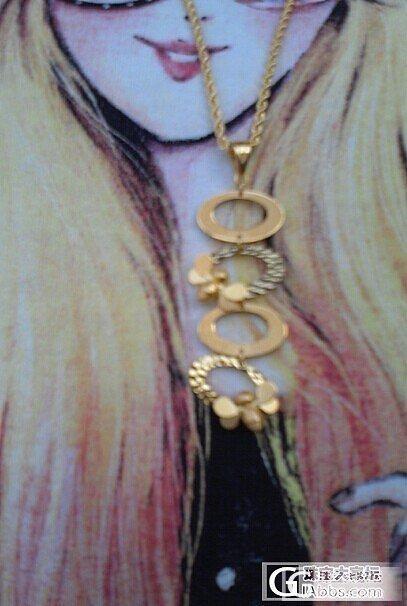diy吊坠手链,大福妹妹的创意,新加吊坠和手链对比图_吊坠手链金