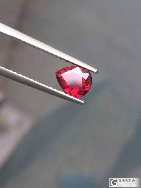 新入一粒1.5CT红宝石 无烧鸽血,随评……_珠宝