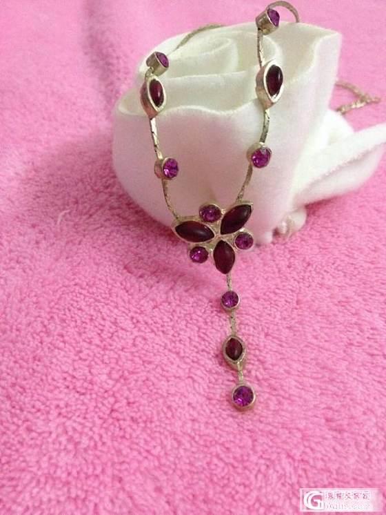 妖娆的紫,我的夏天梦_项链银