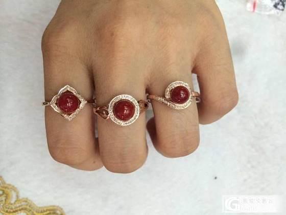 珊瑚戒指,雕件_有机宝石