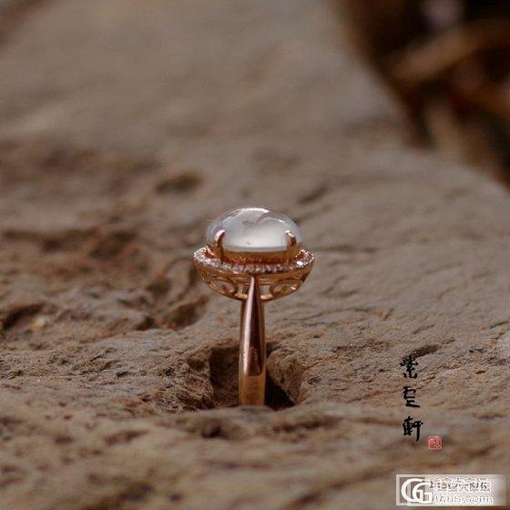 一个戒指和一个蛋面,哪个好看@_珠宝