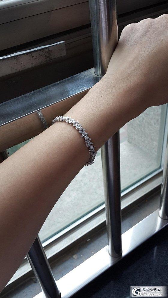 美美的钻石手链,来还图啦_钻石
