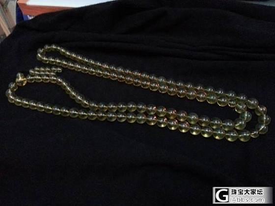 這串11mm的108佛珠質量如何?_琥珀