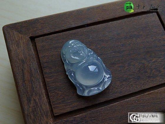【十月】2.18新货42件之淡蓝底佛公 售价:1380_十月花嫁翡翠