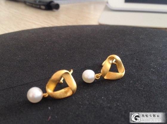 有妹子喜欢珍珠耳坠吗_耳坠金福利社