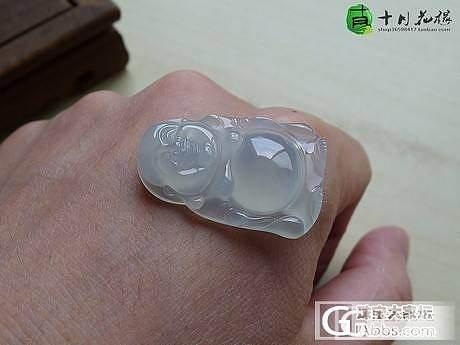 【十月】冰种佛公 售价:2800_十月花嫁翡翠