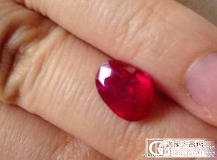 奇葩的鸽血红_红宝石