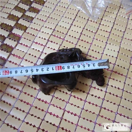 印度小叶紫檀老料笔洗文玩摆件原价1980元特价1200元_文玩
