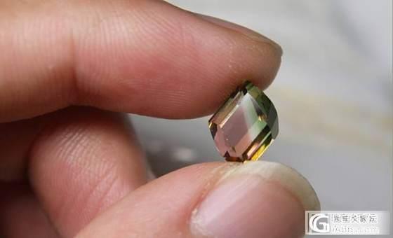 看惯了千篇一律的切工,终于找到了一个比较个性的西瓜_碧玺刻面宝石
