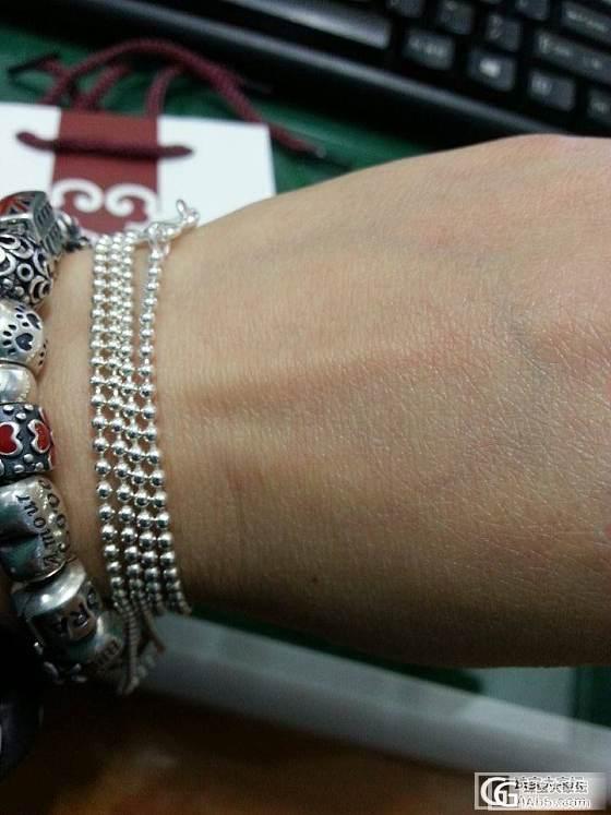 小圆珠项链_项链银